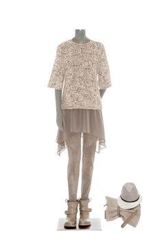 Regular Size L Brunello Cucinelli Sweaters for Women Brunello Cucinelli, Comfortable Fashion, Spring Collection, Style Me, Sweaters For Women, Spring Summer, Tunic Tops, Knitting, Womens Fashion