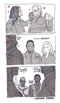 I still don't ship Stucky but even I have to admit that this is how that moment in the trailer went down haha