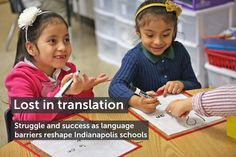 Chalkbeat|Lost in Translation: Struggle and success as language barriers reshape Indianapolis schools|This is a powerful collection of articles looking at how school districts in Indiana are coping with a large influx of ELLs, and examining both their struggles and successes.