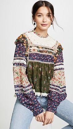 New Designer Sales Online China Fashion, Boho Fashion, Girl Fashion, Womens Fashion, Fashion Trends, Bohemian Style, Boho Chic, Ropa Shabby Chic, Liberty Fashion