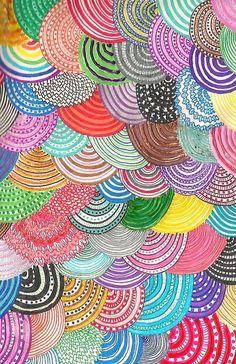 Illustration Art / Mix patterns