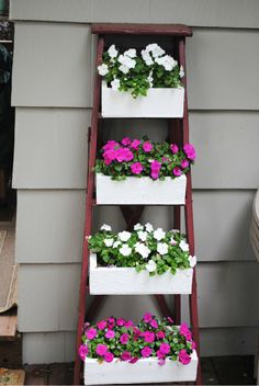 It's Wednesday…that means time to show off some fantastic photos from the BHG Share My Gallery. A homemade ladder planter from reader thevintagegypsy97! —————————————————————————————————————— A fun way to dress up a privacy fence from reader scaffrey158491 —————————————————————————————————————— A stunning front-yard landscape from reader kfisher78