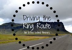 8-Day Itinerary for a #RoadTrip around #Iceland || www.wifewithbaggage.com