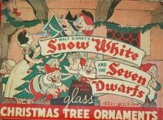 Vintage Snow White Ornaments