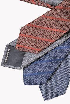 New Ermenegildo Zegna silk ties