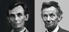 Before and after the war: The dramatic aging of Abraham Lincoln