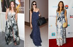 Celebrity Style Inspiration: Maxi Dresses