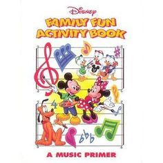 Disney family fun activity book - disney activity books are ideal for music classes, or. Disney Family, Disney Fun, Disney Movies, Disney Characters, Disney Activities, Family Activities, Music Basics, Valentine's Day Party Games, Bible For Kids