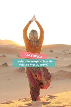 Marokko, alleine reisen als Frau - wie ist das wirklich?