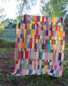 My Fall quilt | Flickr - Candy Coated quilt pattern from Sunday Morning Quilts book by Amanda Jean and Cheryl