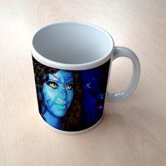Taza con foto personalizada estilo Avatar #taza  #mug