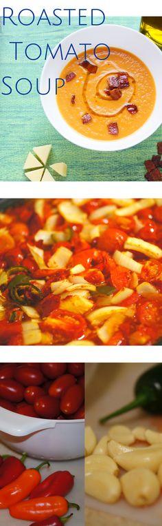 Roasted Tomato Soup recipe #recipe #soup #paleo #farmtotable