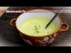 Sos majonezowo-musztardowy z ogórkiem i curry :: Skutecznie.Tv [HD] Cheeseburger Chowder, Food And Drink, Pudding, Fruit, Desserts, Sauces, Youtube, Cooking Recipes, Koken