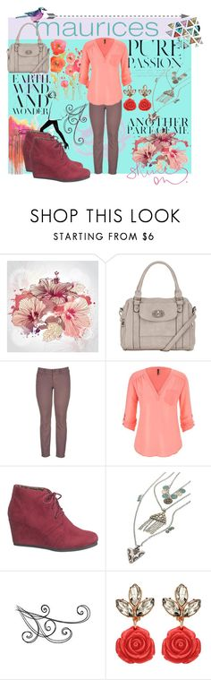"""""""The Perfect Blouse with maurices: Contest Entry"""" by alnilam ❤ liked on Polyvore featuring maurices, American Vintage and Garance Doré"""