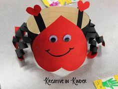 Kreative in Kinder: Valentine's FUN! Valentine Activities, Valentine Crafts For Kids, Holiday Crafts, Party Activities, Summer Activities, Holiday Fun, Valentine Hats, Valentines Day Party, Ideas Collage