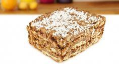 Palha Italiana com Paçoquita Fudge, Peanut Candy, Cookies, Oreo, Banana Bread, Brunch, Sweets, Desserts, Recipes