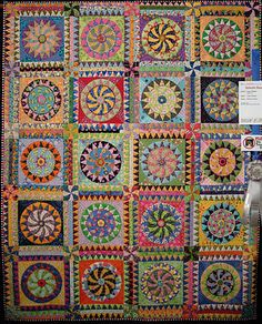 Mississippi Wheel of Fortune quilt, pattern by Karen K. Stone.  I have always loved this quilt and will try it once I retire.