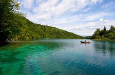 """Andrei Rybachuk/Shutterstock We dare anyone to see a photo of the Plitvice Lakes and not ask, """"Where on earth is that?"""" Located in Croatia, on the country's main highway from Zagreb to Split to be exact, these 16 emerald-hued lakes connected by photogenic waterfalls are not only a national park, but also a UNESCO World Heritage Site. Stroll a series of pathways and wooden bridges to discover ever-evolving cascades at this amazing natural wonder."""