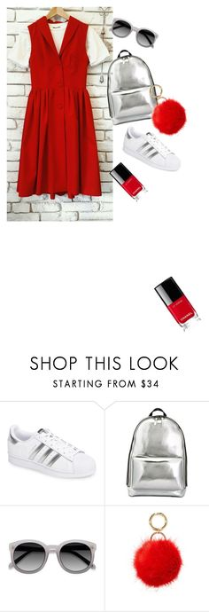 """""""Untitled #126"""" by julia-sidorenko on Polyvore featuring adidas, 3.1 Phillip Lim, Ace, Iphoria and Chanel"""