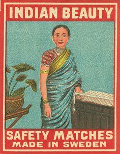 https://flic.kr/p/6TKBq7   Indian matchbox label