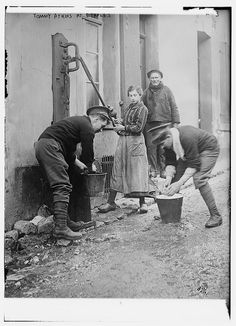 """Tommy Atkins at Etaples (LOC) by The Library of Congress, via Flickr """"Tommy"""" was your generic British solider, a term said to have been coined by the Duke of Wellington. Neither of these men was named Tommy."""