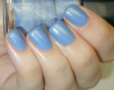 Avon - Blue Water Lilies (swatched by Amandalandish)