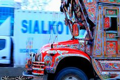Pakistani Truck Art by Musab Mian, via Flickr