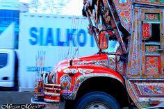 Pakistani Truck Art by Musab Mian, via Flickr Pakistan Zindabad, Truck Art, Indigenous Art, Art Forms, Pakistani, Trucks, Trailers, Colors, Hang Tags
