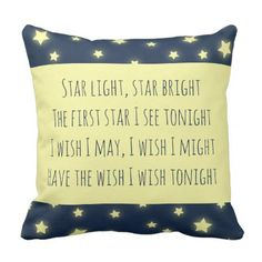New baby announcement postcard personalized baby gifts child new star light star bright baby shower nursery throw pillow baby gifts child new born gift negle
