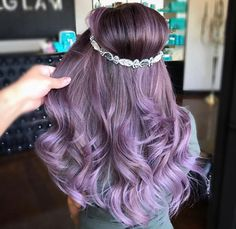 Pravana lilac hair color