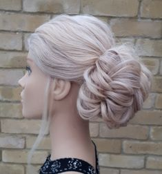 This low oversized boho Bun is a classic Bridal hairstyle Wedding Hairdressers, Civil Ceremony, Bride Hairstyles, Fashion Company, On Your Wedding Day, Bridal Hair, Bridesmaid, Long Hair Styles, Boho