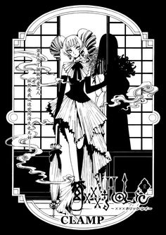 Read xxxHOLiC Rei Chapter 48 - A new story begins with Watanuki and Yuuko, while guests wishes are granted. Description by LuffyNoTomo Japanese Cartoon, Japanese Art, Manga Anime, Anime Art, Black And White Comics, Xxxholic, Major Arcana, Cardcaptor Sakura, Clamp