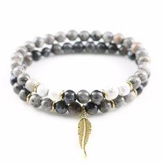 8 mm Lazuli Bracelet lucky Unisexe Sutra Extensible Gemstone spiritualité Guérison