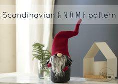 Claus the Scandinavian Christmas Gnome PATTERN by NORDIKatja