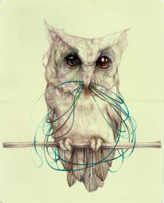 Marco Mazzoni's and His Wondrous Sketchbook Creatures