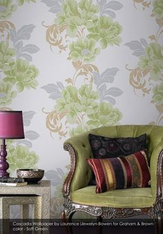 Cascada wallpaper from Graham & Brown