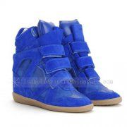 Isabel Marant Blue Electric Bekett Sneakers   http://www.isabelmarantuksneakersoutlet.co.uk