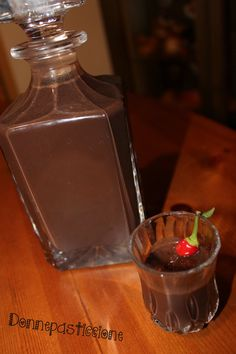 Homemade Liquor, Cocktails, Drinks, Mani, Chocolate Fondue, Biscotti, Pudding, Desserts, Food