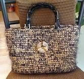 plarn - will have to start saving brown bags! This looks so cool!!!
