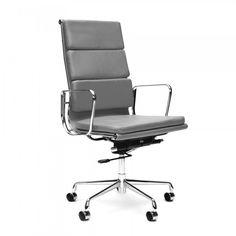 Grau Bürostuhl