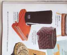 Tranquilitie Majorelle 100% wool blanket featured in Country and Town House Magazine. September Issue 2014