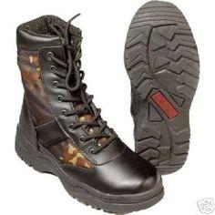 CN Outdoor Mc Allister Outdoor-Boots »Patriot Style« Schwarz 44,Schwarz
