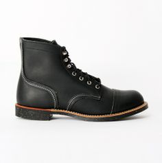 8114D Iron Ranger black boots Red Wing Shoes