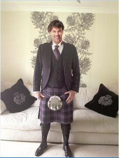 Our first, and very exclusive one-off kilt using the tartan design.