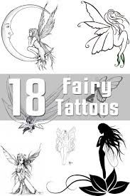 Image result for fairy black and white tattoo designs