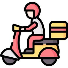 Delivery Man free vector icons designed by Freepik