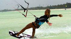 Glorious Zanzibar: Flysurfer riders Lukas & Andrea spent 4 amazing weeks in Zanzibar - the pearl of the Indian Ocean.  Watch their great experiences in this beautiful location #kitesurfing #kiteboarding #travel #Zanzibar @ ActionTripGuru.com