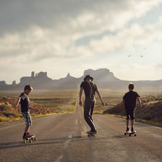 """Skate the Valley""  --Monument Valley  skateboard, skateboarding,"