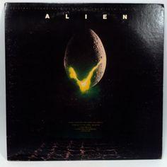 Alien Movie Soundtrack OST Vinyl Record LP by vintagebaronrecords