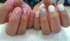 like the white with ring finger in glitter